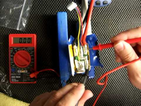 Turnigy 5000 mAh 3S Lipo Testing & Repair Questions   DOA from HobbyKing