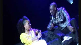 Eddie Kadi Ms Dynamite, Bashy & YolanDa Brown at An Audience with Eddie Kadi at the indigO2