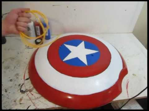Make the Captain America Shield