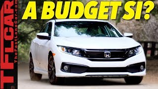 The New 2019 Honda Civic Sport Looks Fast, Handles Great, But is it Too Slow?