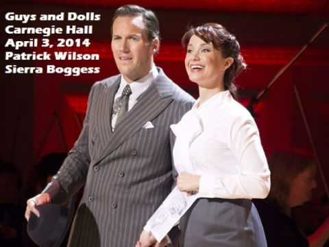 Guys and Dolls - Carnegie Hall - I've Never Been in Love Before - Patrick Wilson - Sierra Boggess