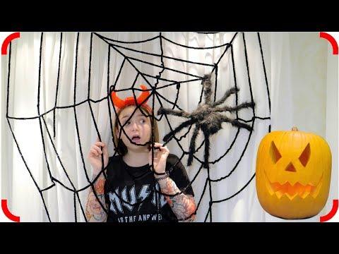 Хэллоуин!!! Кто пугает Тому и маму? Halloween