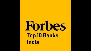 Forbes Top 10 Banks in India 2019