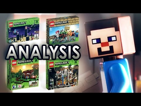 LEGO Minecraft : Minifigure Scale Sets Analysis #2
