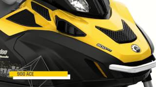 2015 Ski Doo Skandic and Tundra