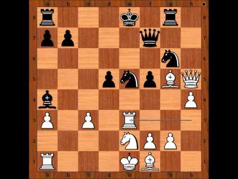 Tal vs Botvinnik Game 1 WCC 1960