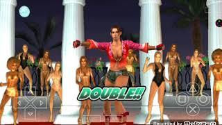 Tekken 5 DR PSP | Tekken Bowl Tournament | Christie & Anna | Part 1