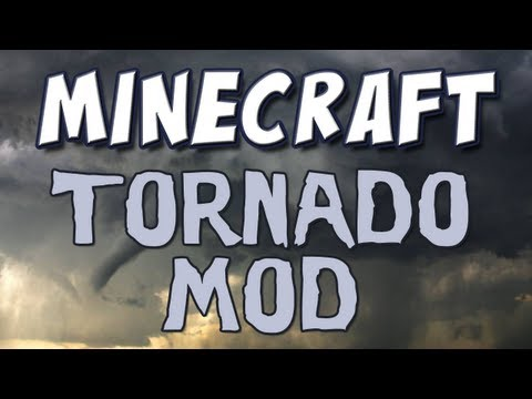 Minecraft - Tornado Mod Spotlight Music Videos