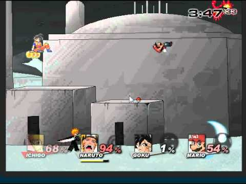 Super smash flash 2 v0.8 - Analisis