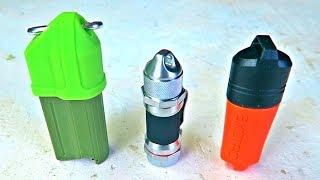 5 Survival Waterproof Lighters Test