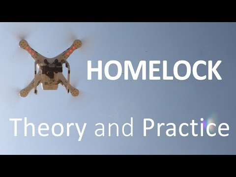 #7 DJI Phantom Tutorial - IOC Homelock (HL) explained and demonstrated