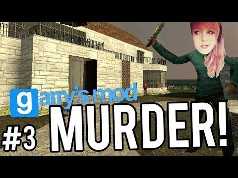 MUAHAHA... BUTTS! | GMOD MURDER #3
