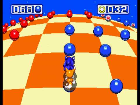 Sonic the Hedgehog 3 - Sonic the Hedgehog 3 - Sega Genesis - third emerald and a perfect (all rings collected) - User video