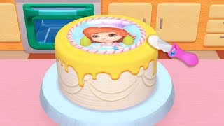 Cake Cooking Kids Game - Learn Cooking Bake, Serve and Decorate My Bakery Empire Kids Games