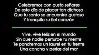 Karaoke Feliz Cumpleaños Pedro Infante En Tu Dia