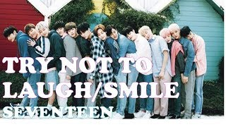 Try Not to Laugh/Smile Challenge (SEVENTEEN) Part 1