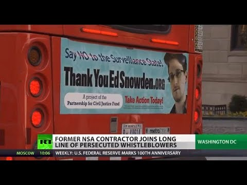 Eye-Openers: Snowden joins long list of persecuted whistleblowers