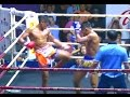 Muay Thai Fight - Sangmanee vs Thanonchai, Rajadamnern Stadium Bangkok - 14th October 2015