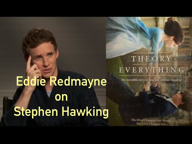 """Eddie Redmayne on Meeting """"Stephen Hawking"""" For """"The Theory of Everything"""""""