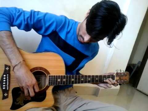 Intro of AADAT by JAL The Band easiest guitar lesson in marwari...