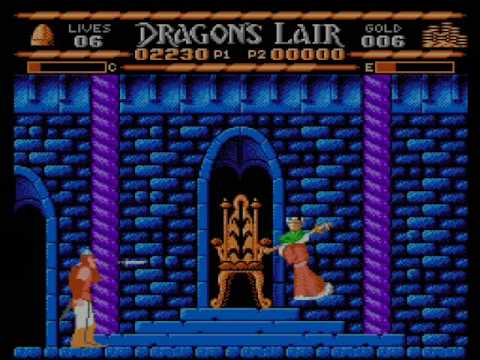 Dragon's Lair NES Review/Walkthrough Pt. 2 of 2