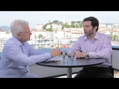 LinkedIn CEO Jeff Weiner talks with JWT Worldwide Chairman & CEO Bob Jeffrey