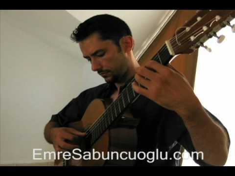 Aire Norteño (Anido) - Emre Sabuncuoglu, classical guitar