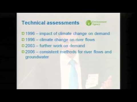 Planning for climate change in water supply and flooding in the UK