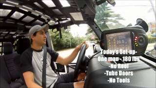 RIPP  SUPERCHARGER 0-60 Testing Pentastar Jeep Wrangler 2012