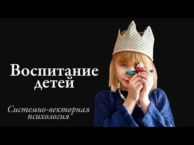 Системно векторная психология воспитание детей