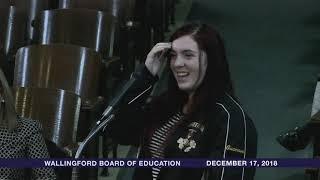 Wallingford Board of Education Meeting - December 17, 2018