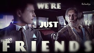 ►Friends │ Connor & Hank │  Detroit Become Human │GMV