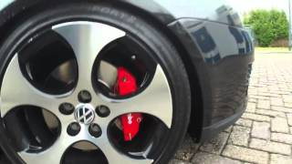 GOLF GTI downpipe straight pipe exhaust system sound!