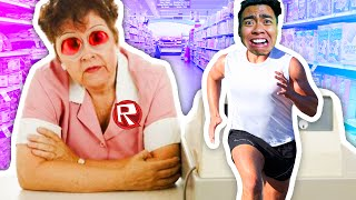 ESCAPING THE SUPERMARKET! | Roblox