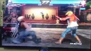Tekken Tag2 Awais(Lars,Raven) V/S Arslan(Leo,Lars)