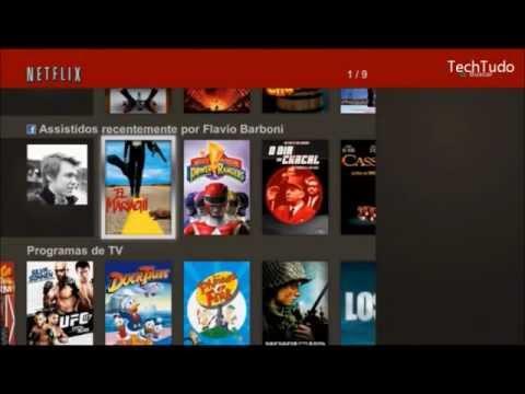 TechTudo - Saiba como utilizar a Netflix no PS3