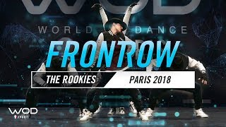 CINDY HURT & THE ROOKIES | World of Dance Paris Qualifier 2018 | FrontRow