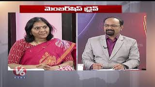 Special Discussion On TRS Vs BJP Membership Drive In Telangana