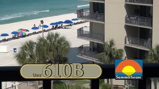 Unit 610B Summerhouse Panama City Beach Vacation Condo