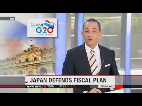 Japan explains fiscal plan at G20