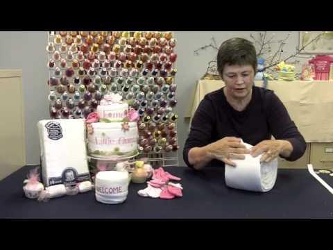 Baby Shower Gift Idea: The Diaper Cake