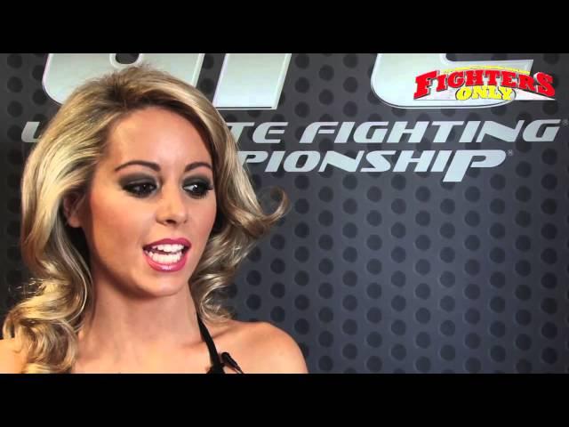 Carly Baker UFC Ring Girl