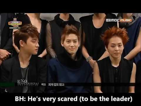 [ENG] 130612 - EXO Interview @ShowChampion