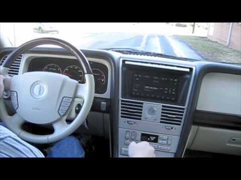 Test Drive 2003 Lincoln Aviator Youtube