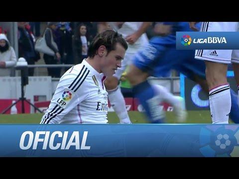 Dura entrada a Gareth Bale