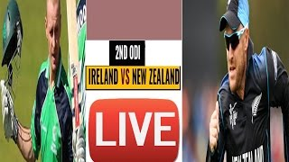 Newzealand vs Ireland--Tri Nation Series--2nd odi---2017--live