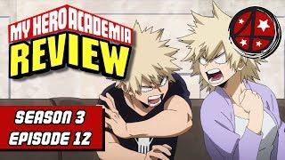 Bakumom's in the Mix!   My Hero Academia Season 3 Episode 12 REVIEW   Anime FMK
