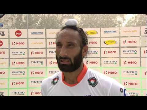 Post Match Interview Sardar Singh