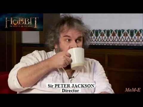 Peter Jackson - Talks About His Battle Of The Five Armies Final Editing And Other Movie Projects