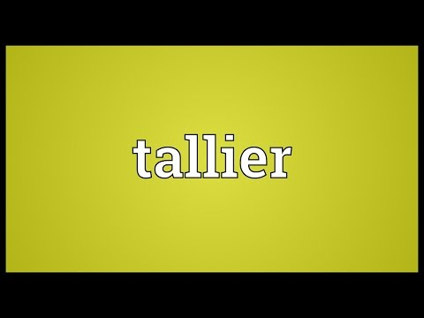 Header of tallier
